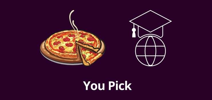 Pizza or Abroad